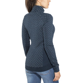 Icebreaker Affinity Thermo LS Half Zip Women Eclipse Heather